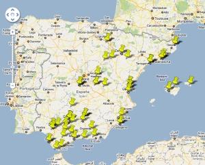 Mapa del entretenimiento en Hispania